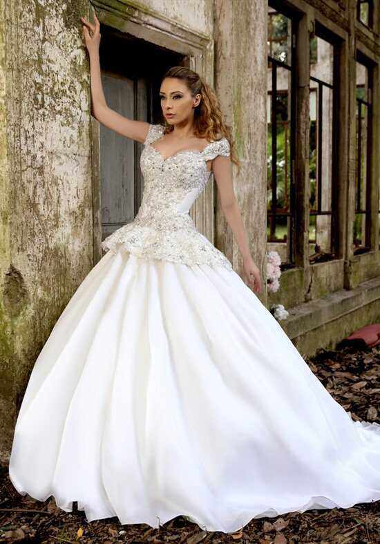 Stephen Yearick KSY70 Sheath Wedding Dress