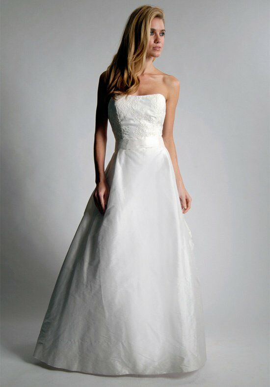 Elizabeth St. John Alden A-Line Wedding Dress