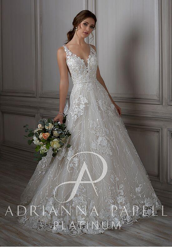 Adrianna Papell Platinum Louisa Wedding Dress - The Knot