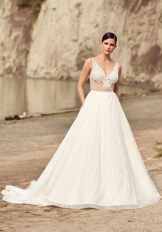Mikaella 2114 A-Line Wedding Dress