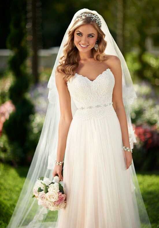 Stella York 6025 Sheath Wedding Dress
