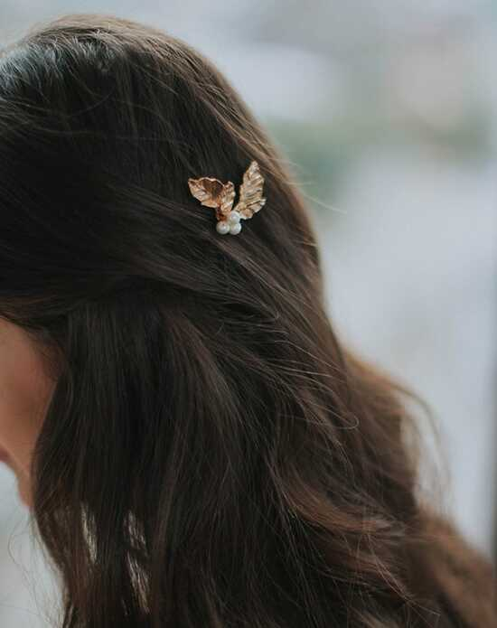 Davie & Chiyo | Hair Accessories & Veils Holly Hairpin Gold Pins, Combs + Clip