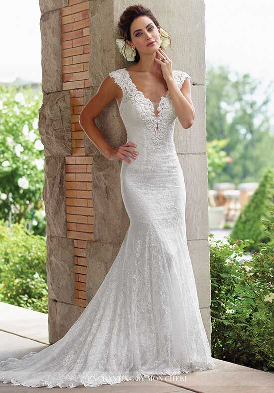 Enchanting by Mon Cheri 117193 Mermaid Wedding Dress