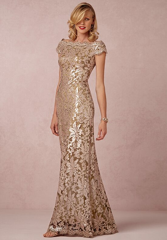 BHLDN (Mother of the Bride) Odette Gold Mother Of The Bride Dress