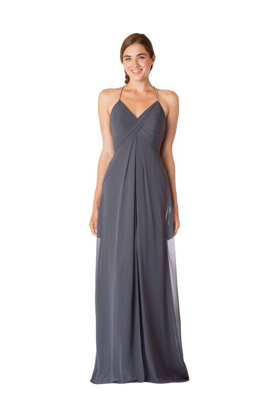 Bari Jay Bridesmaids BC-1723 V-Neck Bridesmaid Dress