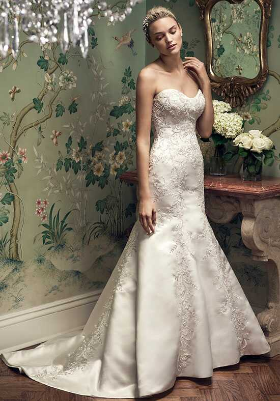 Casablanca Bridal 2207 Mermaid Wedding Dress