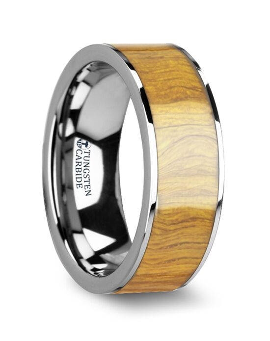 Mens Tungsten Wedding Bands W4474-OWWI Tungsten Wedding Ring