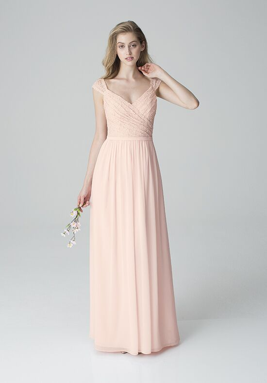 Bill Levkoff 1250 V-Neck Bridesmaid Dress