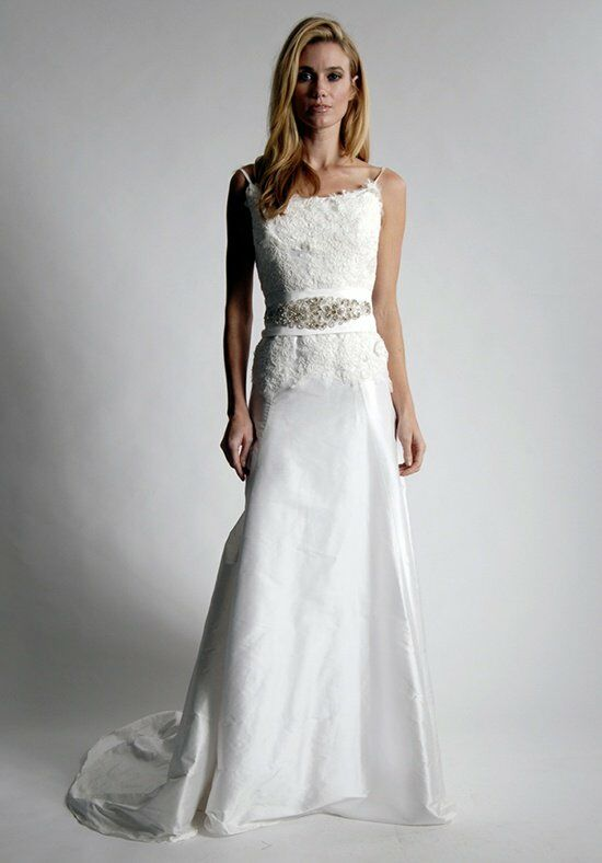 Elizabeth St. John Anjou A-Line Wedding Dress