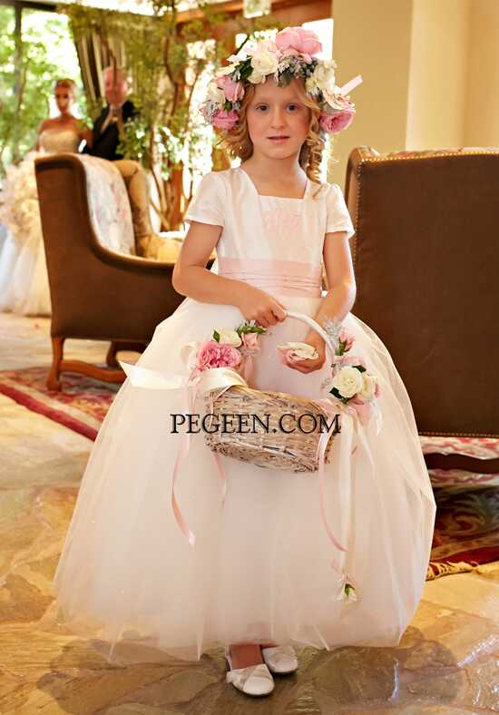 Pegeen.com  902 Flower Girl Dress photo