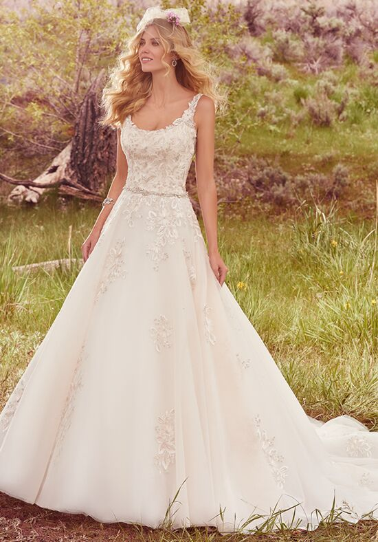 Maggie sottero tayla wedding dress the knot for Maggie sottero mckenzie wedding dress