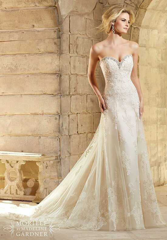 Morilee by Madeline Gardner 2774 Sheath Wedding Dress