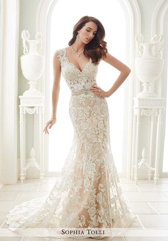 Sophia Tolli Y21656 Fellini Mermaid Wedding Dress