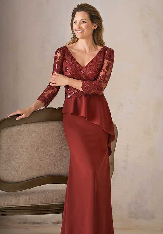 Jade Couture K208001 Red Mother Of The Bride Dress