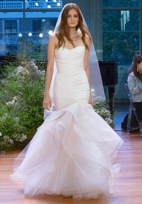 Monique Lhuillier Hailee Mermaid Wedding Dress