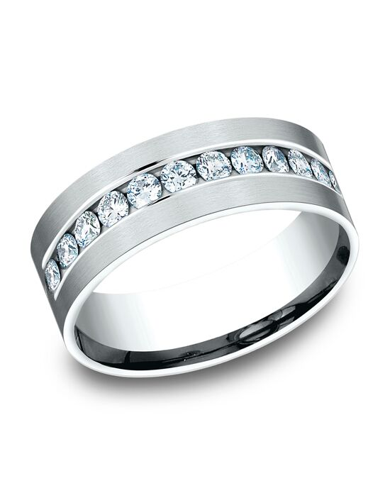 Benchmark CF528531W White Gold Wedding Ring