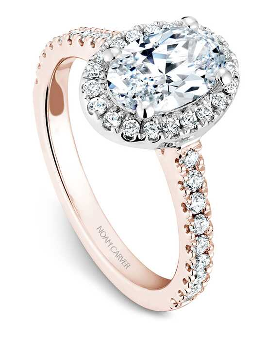 Noam Carver Elegant Oval Cut Engagement Ring