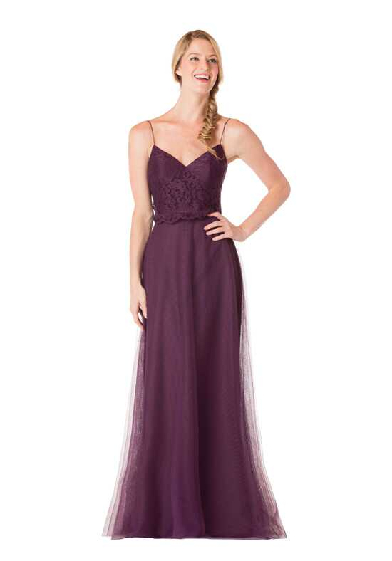 Bari Jay Bridesmaids EN-1706 V-Neck Bridesmaid Dress