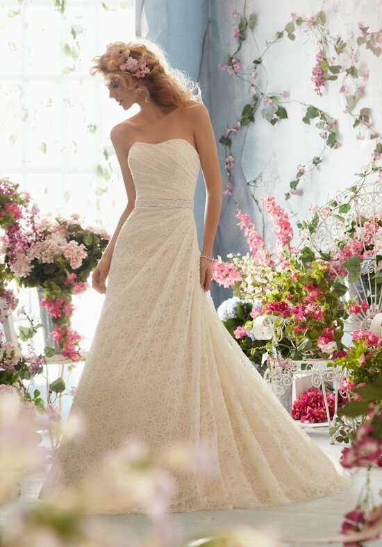 Morilee by Madeline Gardner/Voyage 6763 A-Line Wedding Dress