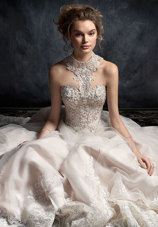 Kenneth Winston 1755 A-Line Wedding Dress