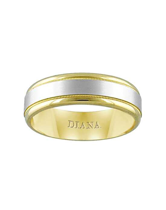 Diana 11-N7121Z-G.00 Gold Wedding Ring