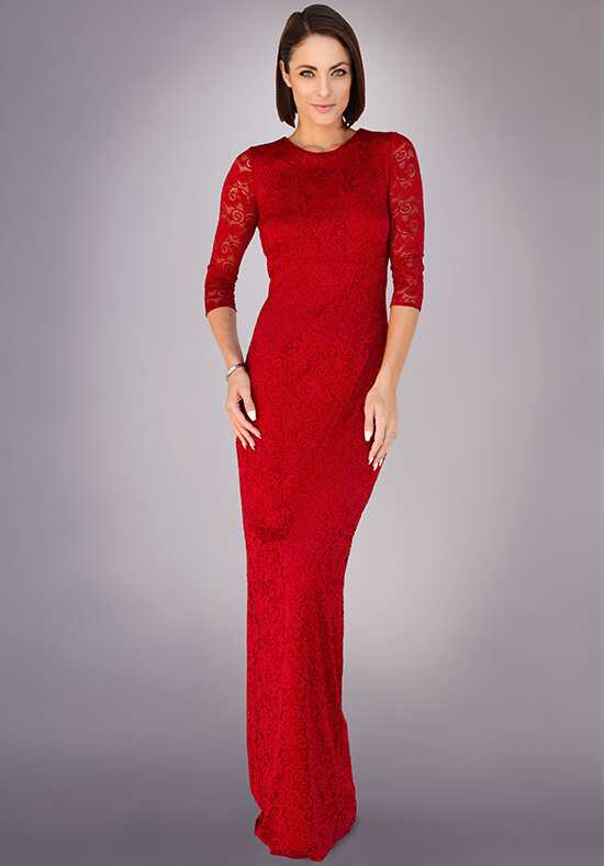 Grayse Wedding Party W1411025 Red Mother Of The Bride Dress