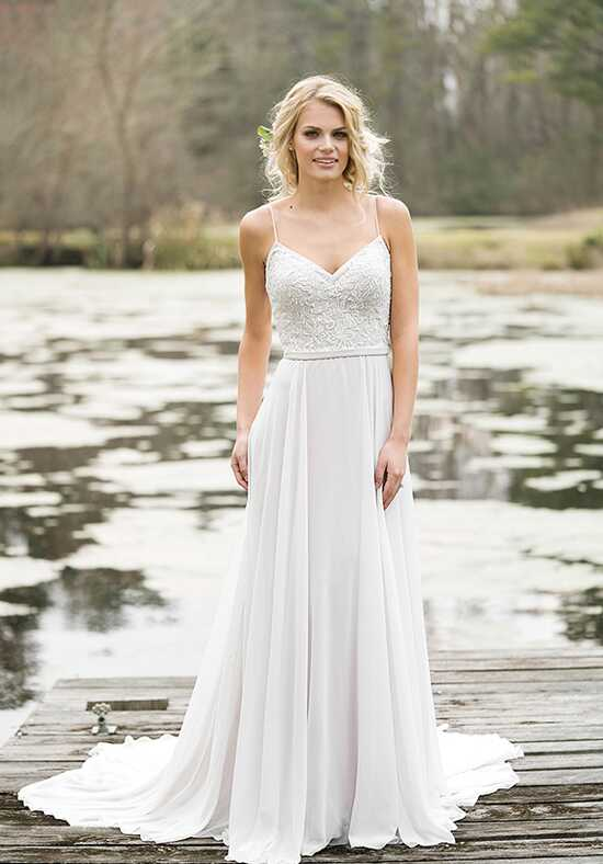 Lillian West 6467 A-Line Wedding Dress