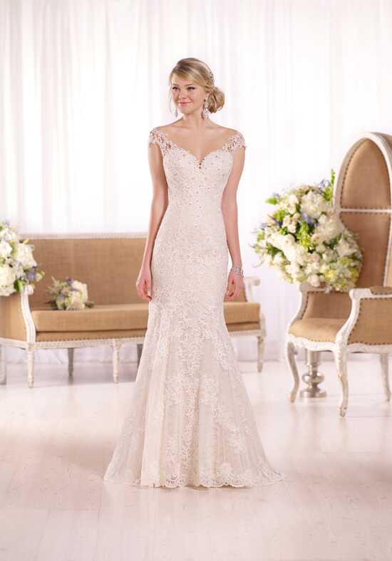 Essense of Australia D1994 Sheath Wedding Dress