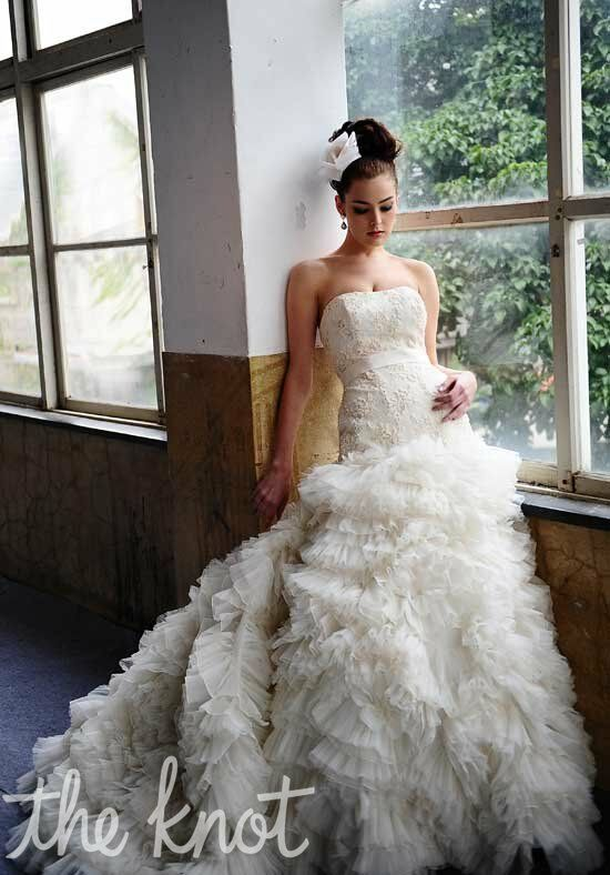 Saison Blanche Couture 4190 Ball Gown Wedding Dress