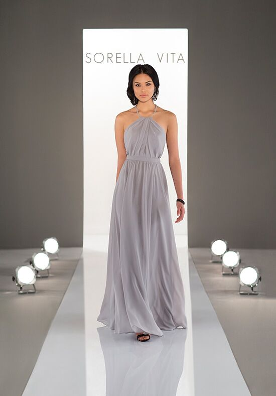 Sorella Vita 9048 Halter Bridesmaid Dress