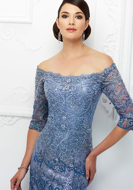 Ivonne D. 118D07 Blue Mother Of The Bride Dress