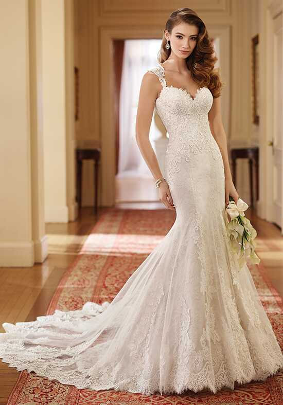 David Tutera for Mon Cheri 217221 Helen Mermaid Wedding Dress