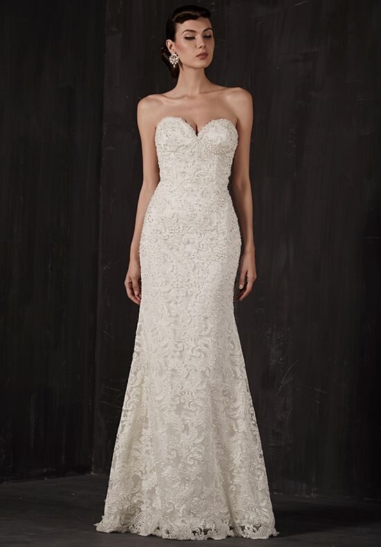 Calla Blanche 16128 Lacey A-Line Wedding Dress