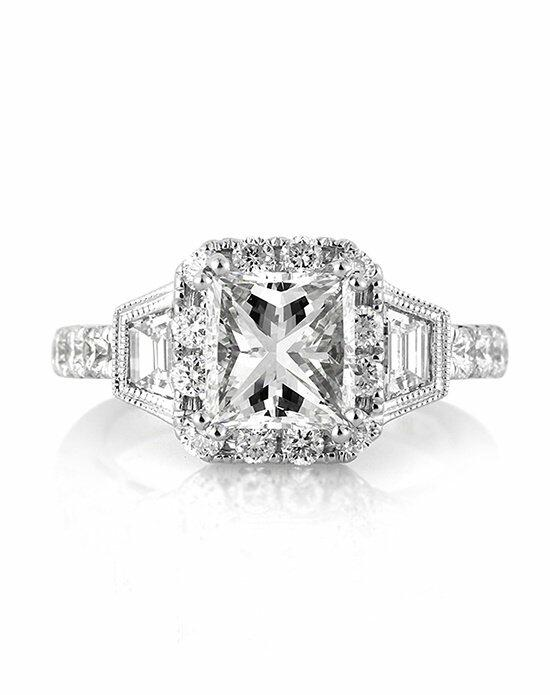 Mark Broumand 3.49ct Princess Cut Diamond Engagement Ring Engagement Ring photo