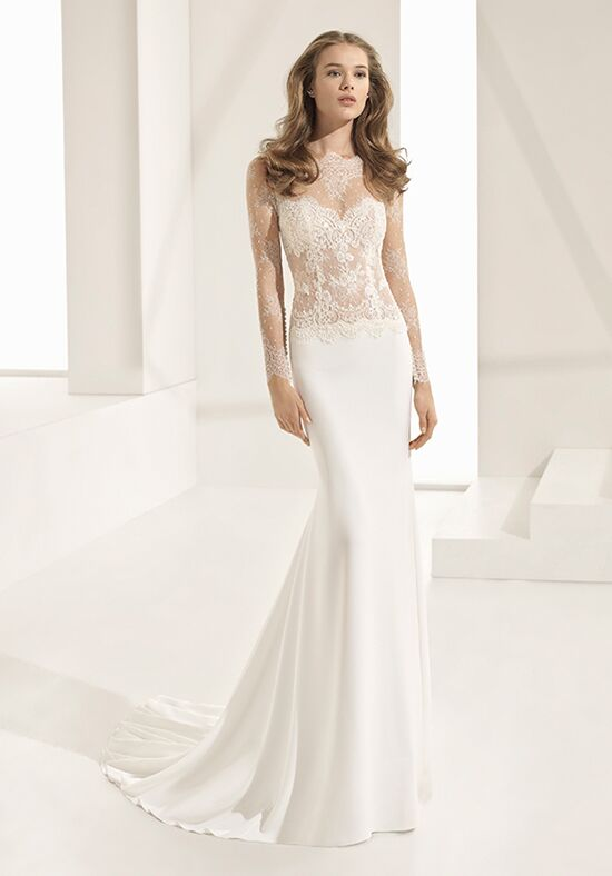 Rosa Clara Couture PALMA Sheath Wedding Dress