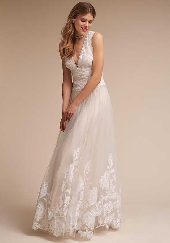 BHLDN English Rose A-Line Wedding Dress