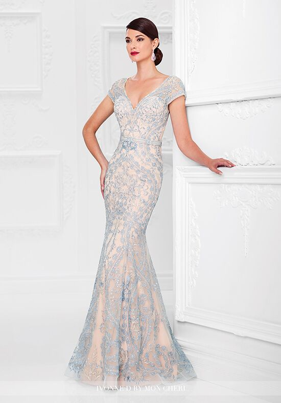 Ivonne D. 117D70 Blue Mother Of The Bride Dress