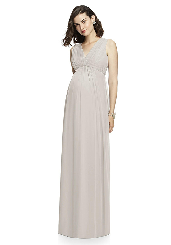 Dessy Collection M429 V-Neck Bridesmaid Dress