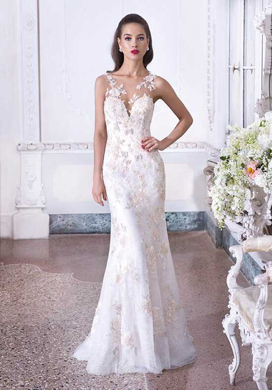 Platinum by Demetrios DP391 - Valerie Mermaid Wedding Dress