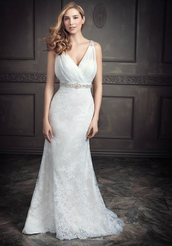 Kenneth Winston: Ella Rosa Collection BE352 Sheath Wedding Dress