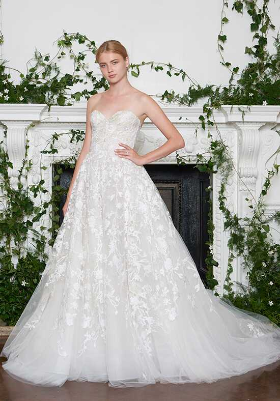 Monique Lhuillier Lakely Ball Gown Wedding Dress