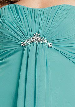 Jordan 233 Strapless Bridesmaid Dress