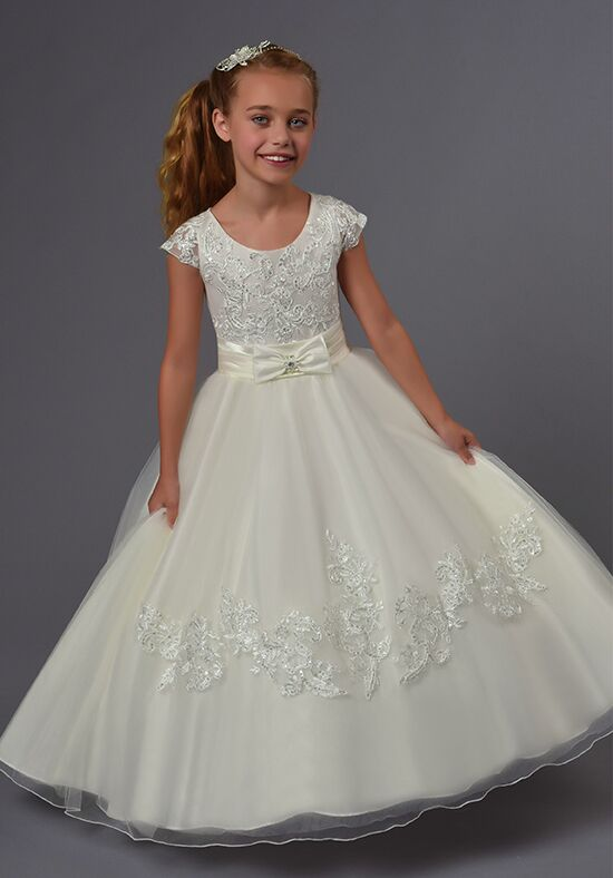 Cupids by Mary's F551 Ivory Flower Girl Dress