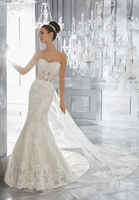 Morilee by Madeline Gardner/Blu Marni | Style 5572 Mermaid Wedding Dress
