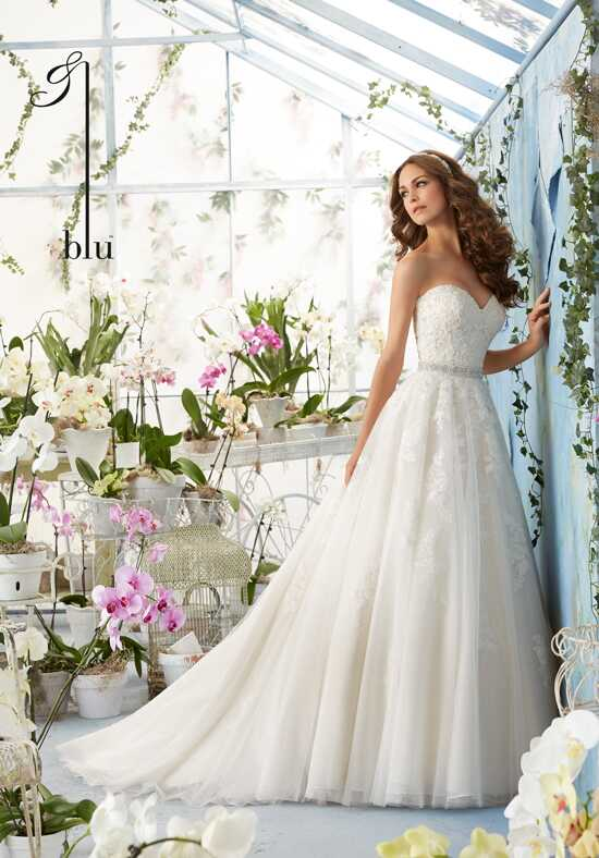 Morilee by Madeline Gardner/Blu 5414 Ball Gown Wedding Dress