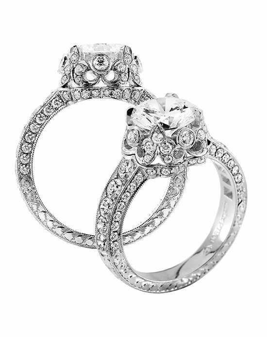 Jack Kelege Round Cut Engagement Ring