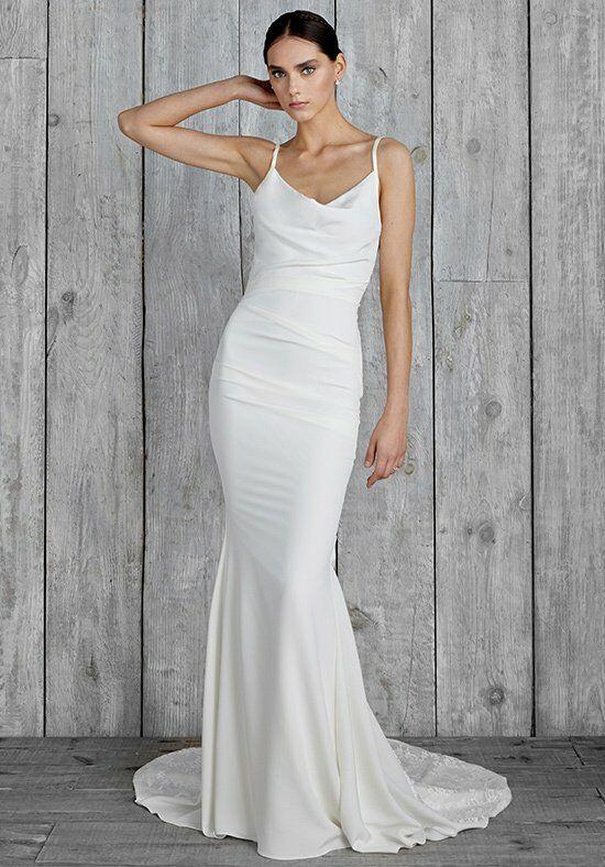 Nicole miller hampton gh10006 wedding dress the knot nicole miller hampton gh10006 sheath wedding dress junglespirit Choice Image
