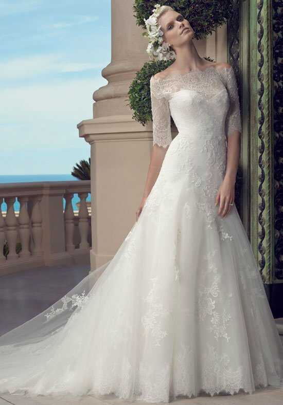 Casablanca Bridal 2203 A-Line Wedding Dress