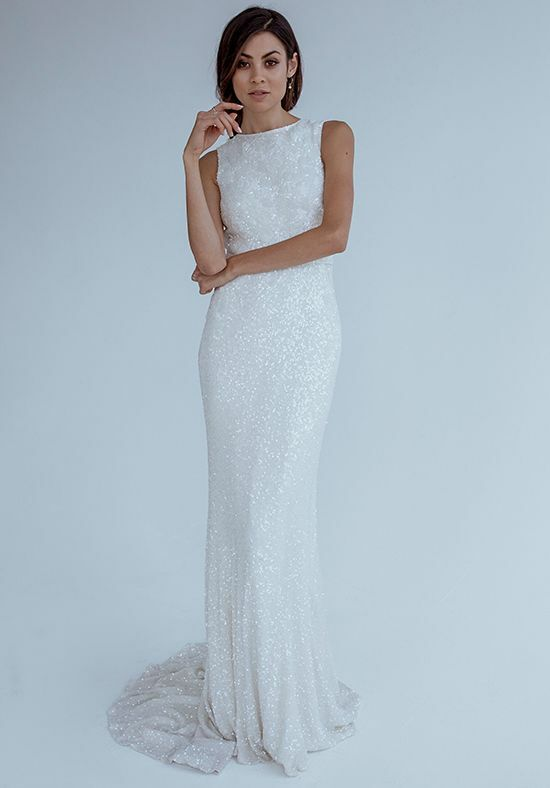 KAREN WILLIS HOLMES Agyness Mermaid Wedding Dress