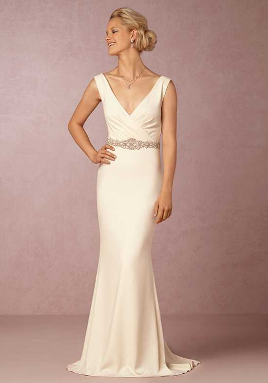 BHLDN Livia Gown Sheath Wedding Dress